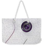 Button - Needle - Thread Weekender Tote Bag