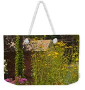 By The Light Of The Garden Weekender Tote Bag