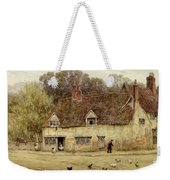 By The Old Cottage Weekender Tote Bag