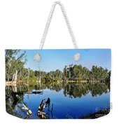 By The River Weekender Tote Bag by Kaye Menner