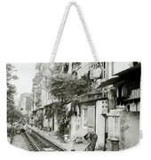 By The Tracks In Hanoi Weekender Tote Bag