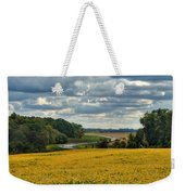Bypass The Country Fields Weekender Tote Bag