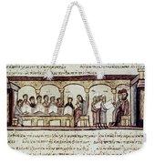 Byzantine Philosophy School Weekender Tote Bag