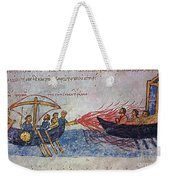 Byzantine Sailors  Weekender Tote Bag