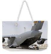 C-17s Deliver, Pick-up Cargo Weekender Tote Bag