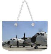 C-2a Greyhound Aircraft Start Weekender Tote Bag