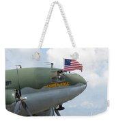 C-46 Tinker Belle Honors American Heros Weekender Tote Bag