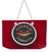 C1 Corvette Emblem Weekender Tote Bag