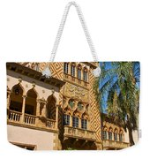 Ca D Zan  Winter Home Of John And Mable Ringling Weekender Tote Bag
