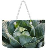 Cabbage In The Vegetable Garden Weekender Tote Bag