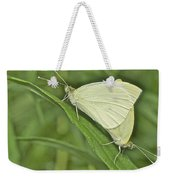 Cabbage White Butterflies 5267 Weekender Tote Bag
