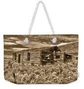 Cabin Fever Weekender Tote Bag by Shane Bechler
