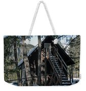 Cabin Get Away Weekender Tote Bag