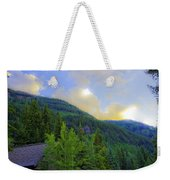 Cabin On The Mountain - Vail Weekender Tote Bag