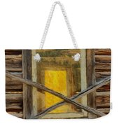 Cabin Windows Weekender Tote Bag