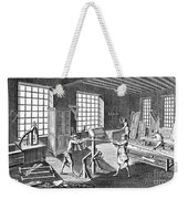 Cabinetmakers Workshop Weekender Tote Bag