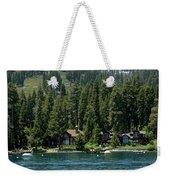 Cabins On The Lake Tahoe Weekender Tote Bag