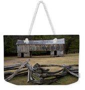 Cable Mill Barn In Cade's Cove No.122 Weekender Tote Bag