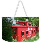 Caboose In The Trees Weekender Tote Bag