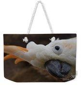 Cacatua Sulphurea Citrinocristata - Citron Crested Cockatoo Weekender Tote Bag