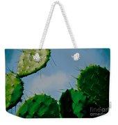 Cacti Junkie Weekender Tote Bag
