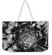 Cactus 10 Bw Weekender Tote Bag