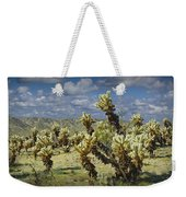 Cactus Also Called Teddy Bear Cholla Weekender Tote Bag