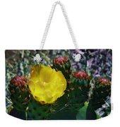 Cactus Blossom 8 Weekender Tote Bag