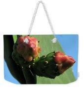 Cactus Buds Weekender Tote Bag