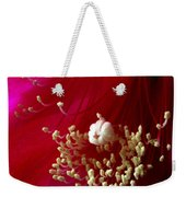 Cactus Flower Interior Weekender Tote Bag