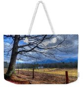 Cades Cove Lane Weekender Tote Bag