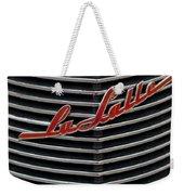 Cadillac Lasalle Hood Emblem Weekender Tote Bag