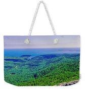 Cadillac Mt  Mt Desert Island Me Ocean View Weekender Tote Bag