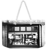 Cadillac Storefront, 1927 Weekender Tote Bag