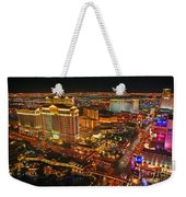 Caesars Palace On The Strip Weekender Tote Bag
