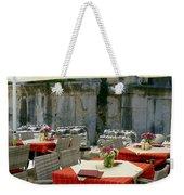 Cafe In Split Old Town Weekender Tote Bag