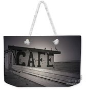 Cafe On The Pier Weekender Tote Bag