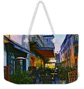 Cafe Terrace On The Place Du Forum Weekender Tote Bag