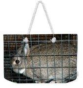 Caged Rabbit Weekender Tote Bag