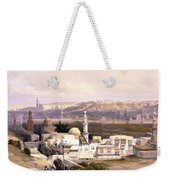 Cairo From The Gate Of Citizenib  Looking Toward The Desert Of Suez Weekender Tote Bag