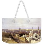 Cairo From The West Weekender Tote Bag