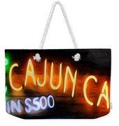 Cajun Casino - Bourbon Street Weekender Tote Bag