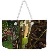 Caladium Flower 2 Weekender Tote Bag