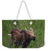 Calf Feeding Weekender Tote Bag