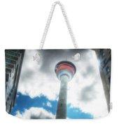 Calgary Tower Hdr Weekender Tote Bag