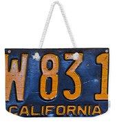 California 1937 Weekender Tote Bag
