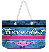 California Chevy Chic Weekender Tote Bag