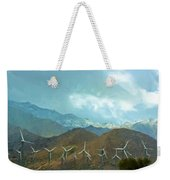 California Desert In Winter Weekender Tote Bag