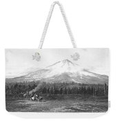 California: Mount Shasta Weekender Tote Bag