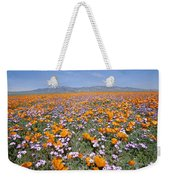 California Poppies And Other Weekender Tote Bag